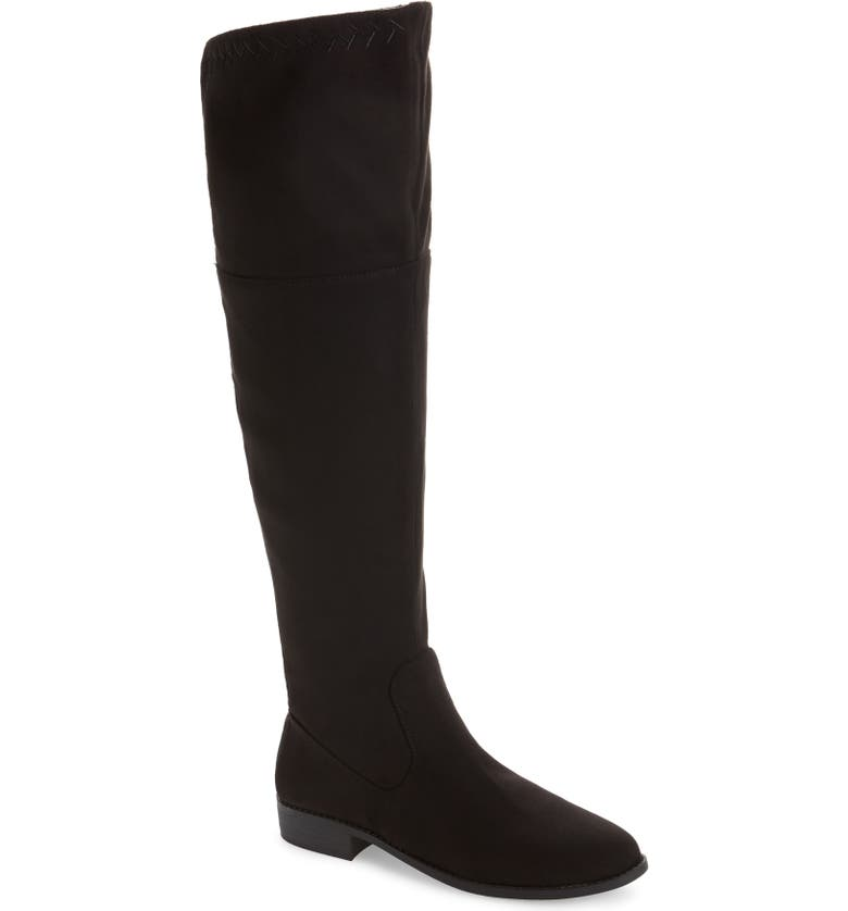 BC FOOTWEAR Height Vegan Over the Knee Boot, Main, color, 001
