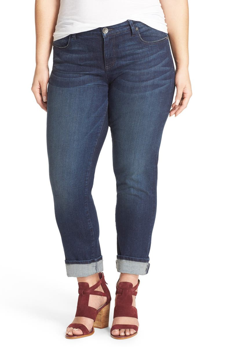 KUT FROM THE KLOTH 'Catherine' Stretch Boyfriend Jeans, Main, color, CAREFULNESS
