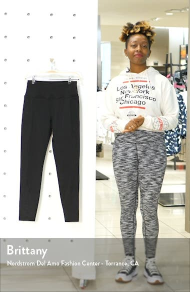 Cozy Winter Pocket High Waist Ankle Leggings, sales video thumbnail