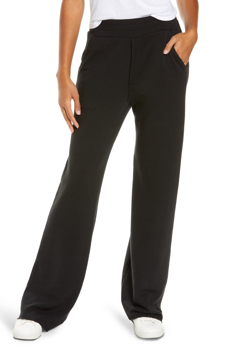 UGG<SUP>®</SUP> Gabi Wide Leg Lounge Pants, Main, color, 001
