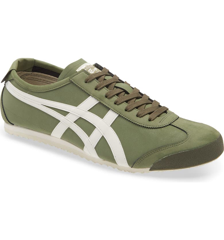 ONITSUKA TIGER<SUP>™</SUP> Mexico 66 Low Top Sneaker, Main, color, MANTLE GREEN/ CREAM