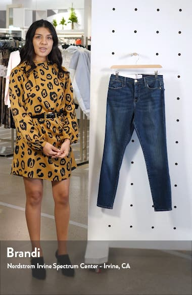 Le High Crop Skinny Jeans, sales video thumbnail