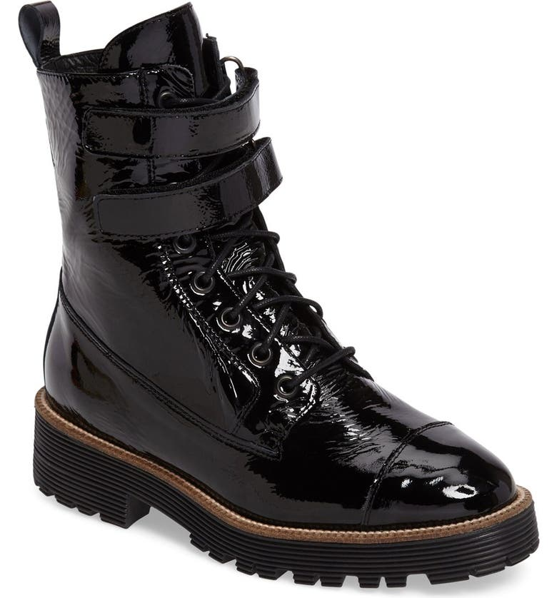 SHELLYS LONDON Tyra Combat Boot, Main, color, 001