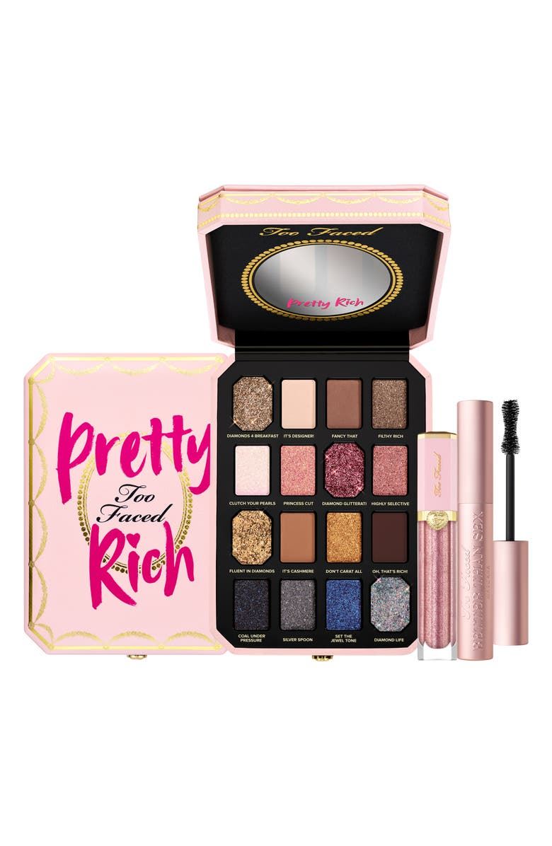 TOO FACED Pretty, Sexy, Rich Luxury Makeup Set, Main, color, 000