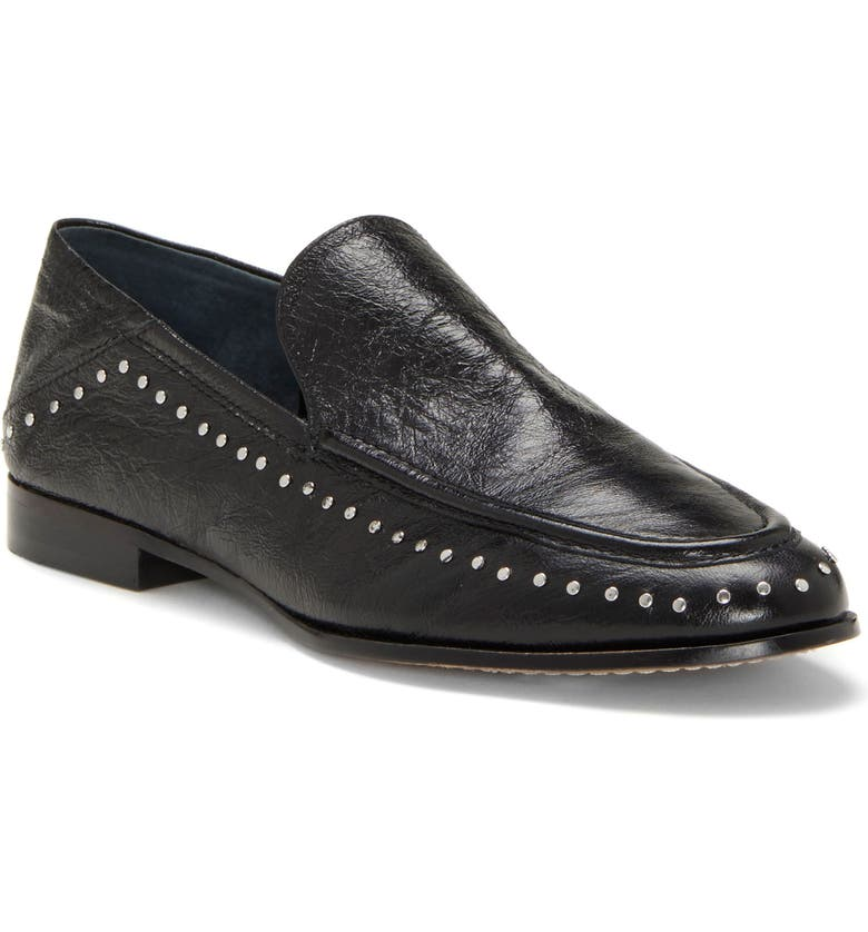 VINCE CAMUTO Jendeya Convertible Studded Loafer, Main, color, 001
