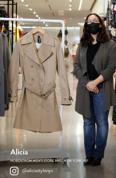 Macintosh St. Andrews Double Breasted Trench Coat, sales video thumbnail
