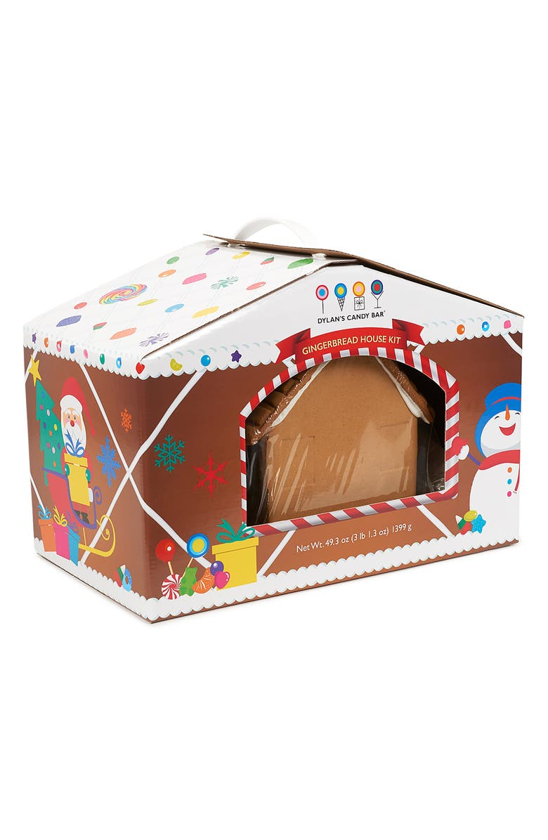 DYLAN'S CANDY BAR Holiday 2019 Preassembled Gingerbread House Kit, Main, color, 200