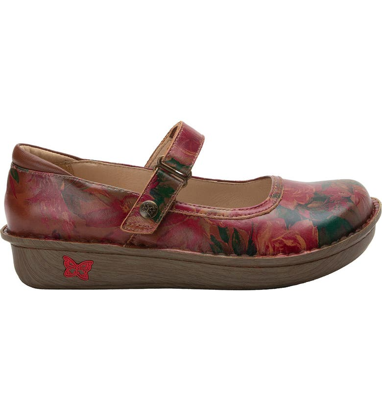ALEGRIA 'Belle' Slip-On, Main, color, SOUTHWESTERN ROMANCE LEATHER