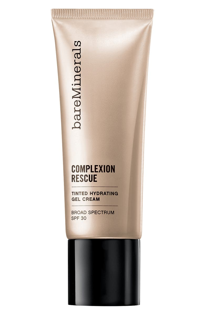 BAREMINERALS<SUP>®</SUP> COMPLEXION RESCUE<sup>™</sup> Tinted Moisturizer Hydrating Gel Cream SPF 30, Main, color, 07 TAN