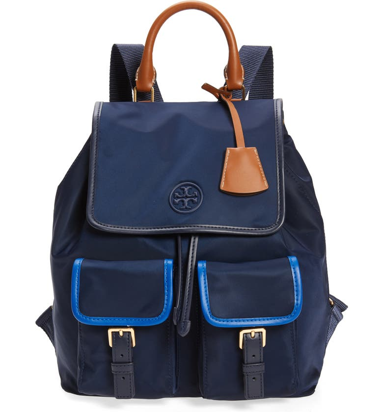 TORY BURCH Perry Nylon Backpack, Main, color, 403