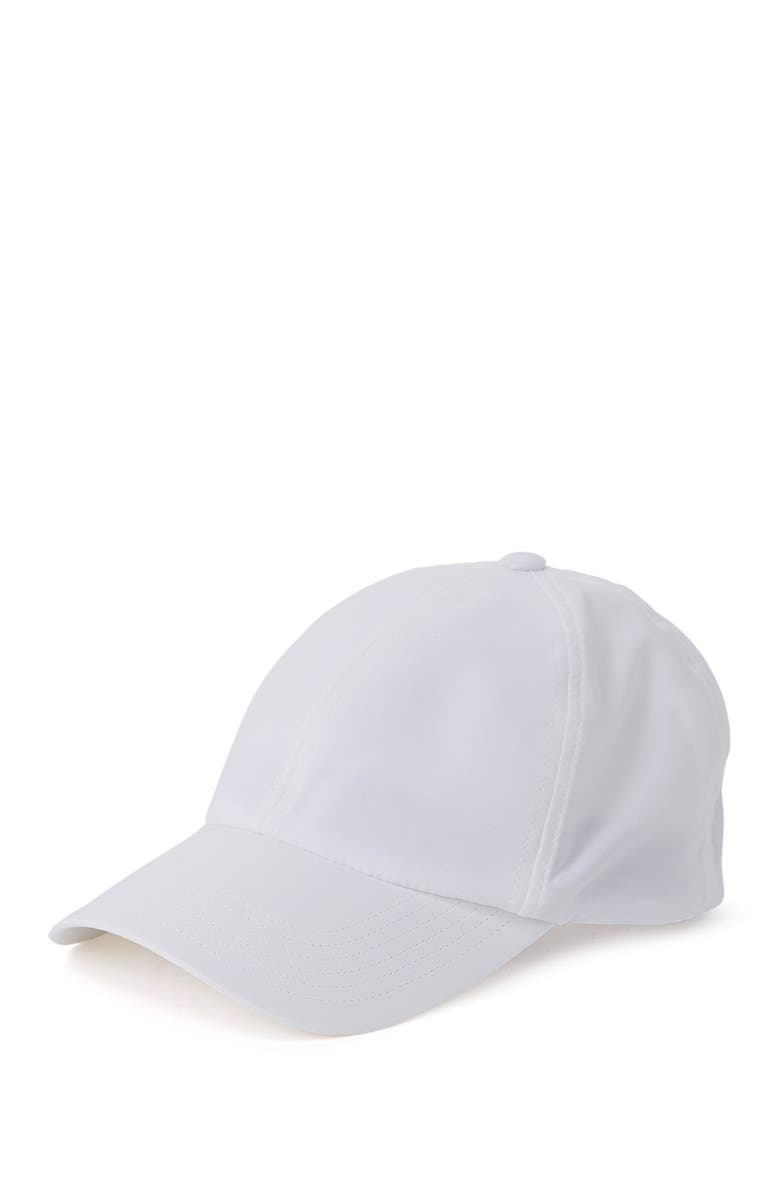 ADIDAS GOLF Crestable Heathered Cap, Main, color, WHITE