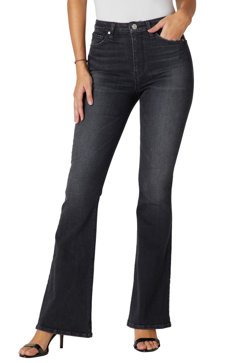 HUDSON JEANS Holly High Waist Flare Jeans, Main, color, NIGHT SONG