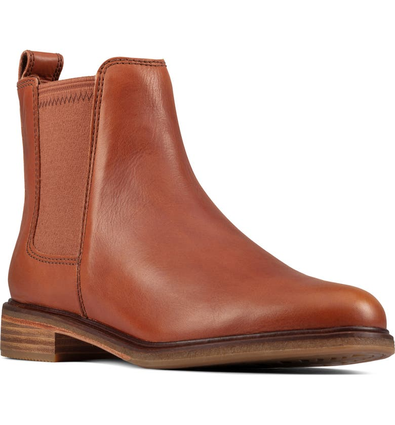 CLARKS<SUP>®</SUP> Clarkdale Arlo Boot, Main, color, TAN LEATHER
