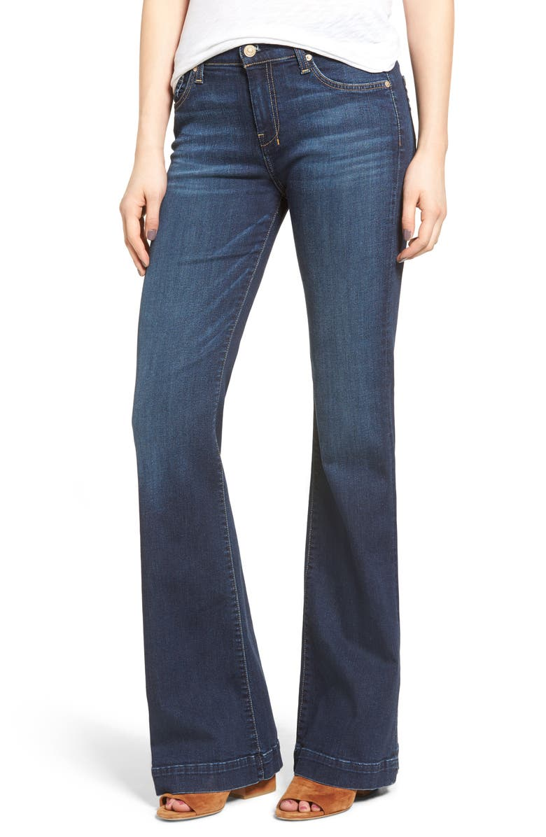 7 FOR ALL MANKIND <sup>®</sup> Dojo High Waist Wide Leg Jeans, Main, color, SANTIAGO CANYON