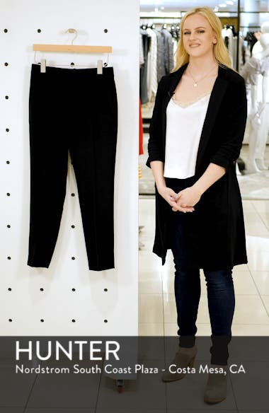 Flat Front Crop Trousers, sales video thumbnail
