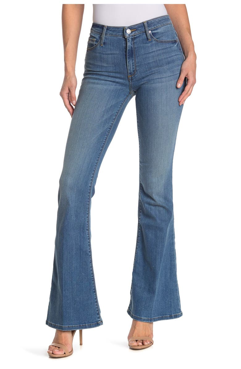 BLACK ORCHID Mia Mid Rise Flare Jeans, Main, color, GOOD YEARS
