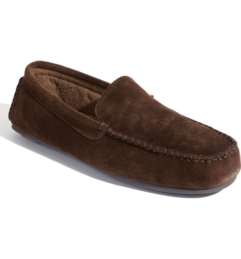 L.B. EVANS 'Darren' Slipper, Main, color, CHOCOLATE