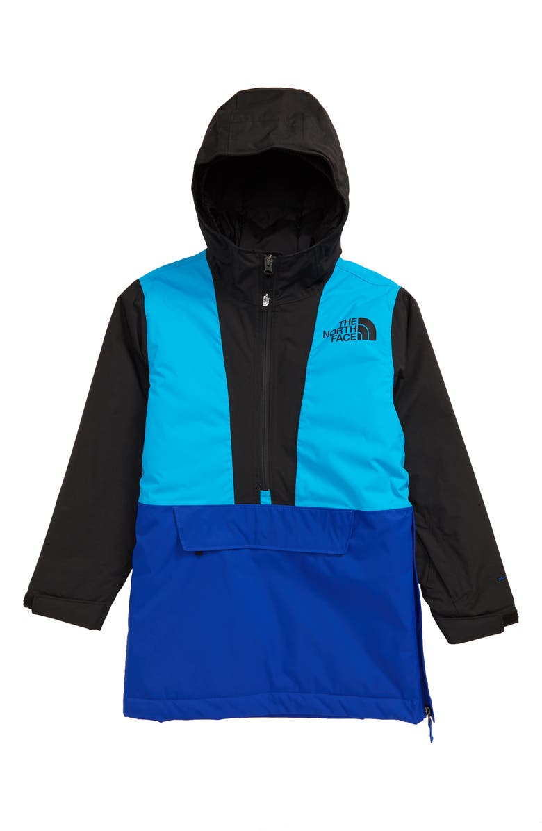 THE NORTH FACE Freedom Insulated Waterproof & Windproof Hooded Anorak, Main, color, TNF BLUE