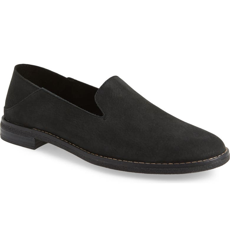 SPERRY Seaport Levy Flat, Main, color, BLACK LEATHER