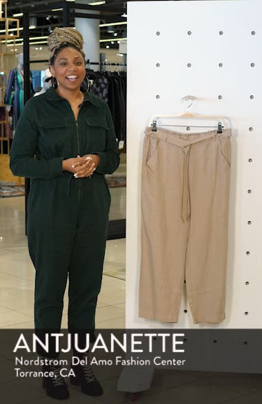 Lantern Twill Ankle Pants, sales video thumbnail