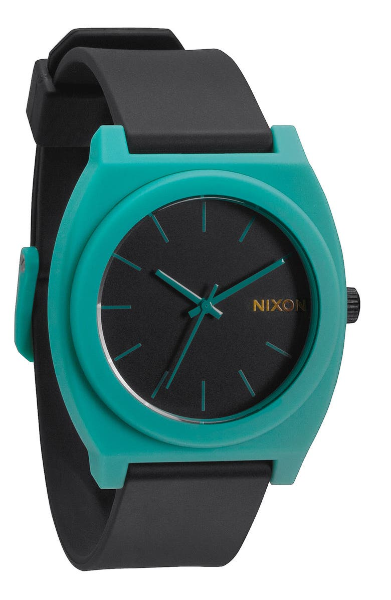 NIXON 'The Time Teller' Watch, 40mm, Main, color, 000