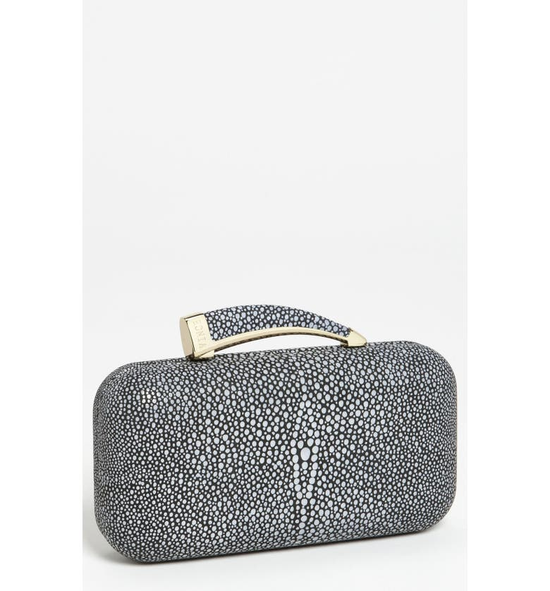 VINCE CAMUTO 'Horn' Clutch, Main, color, 001