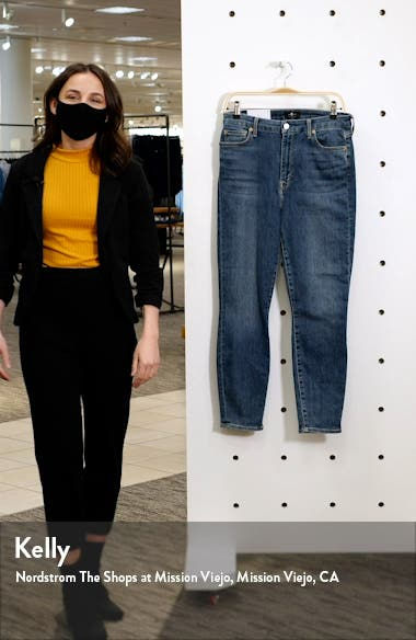 Seven The Aubrey Ultra High Waist Ankle Skinny Jeans, sales video thumbnail