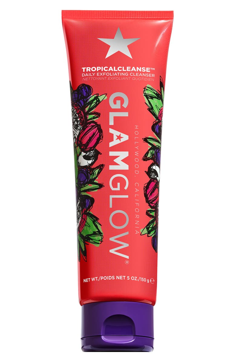 GLAMGLOW<SUP>®</SUP> TROPICALCLEANSE Daily Exfoliating Cleanser, Main, color, NO COLOR