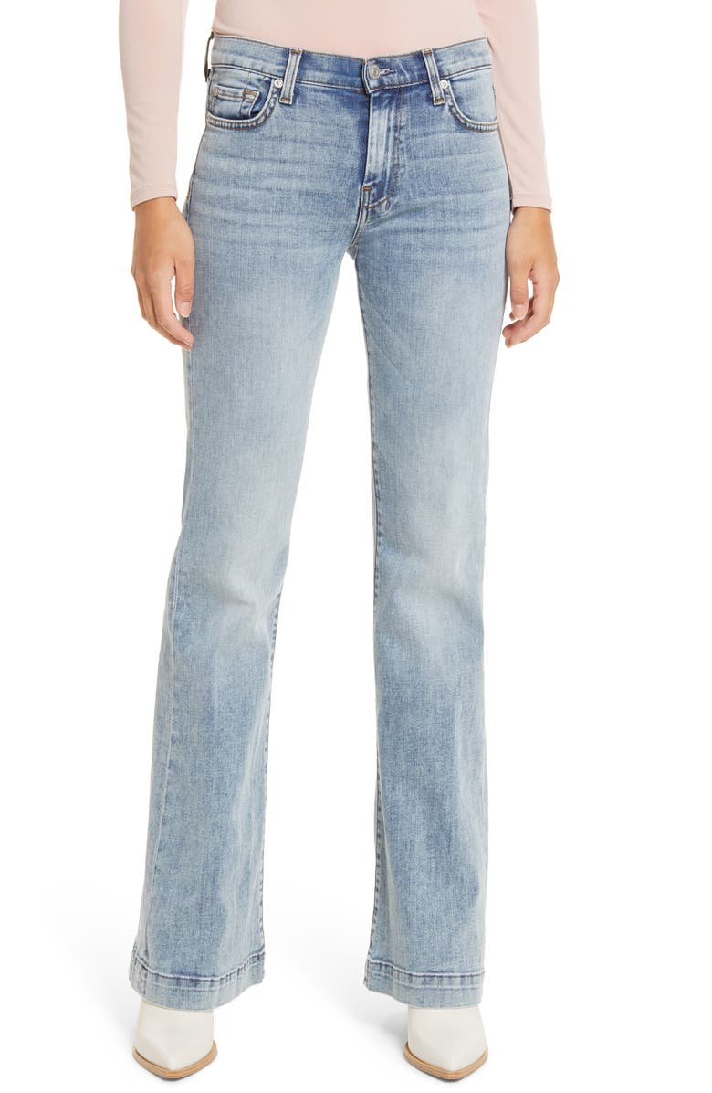 7 FOR ALL MANKIND<SUP>®</SUP> Dojo Wide Leg Jeans, Main, color, CAMROSE