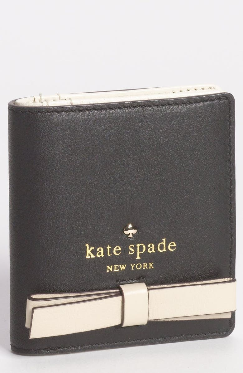 KATE SPADE NEW YORK 'hancock park - small stacy' leather wallet, Main, color, 014