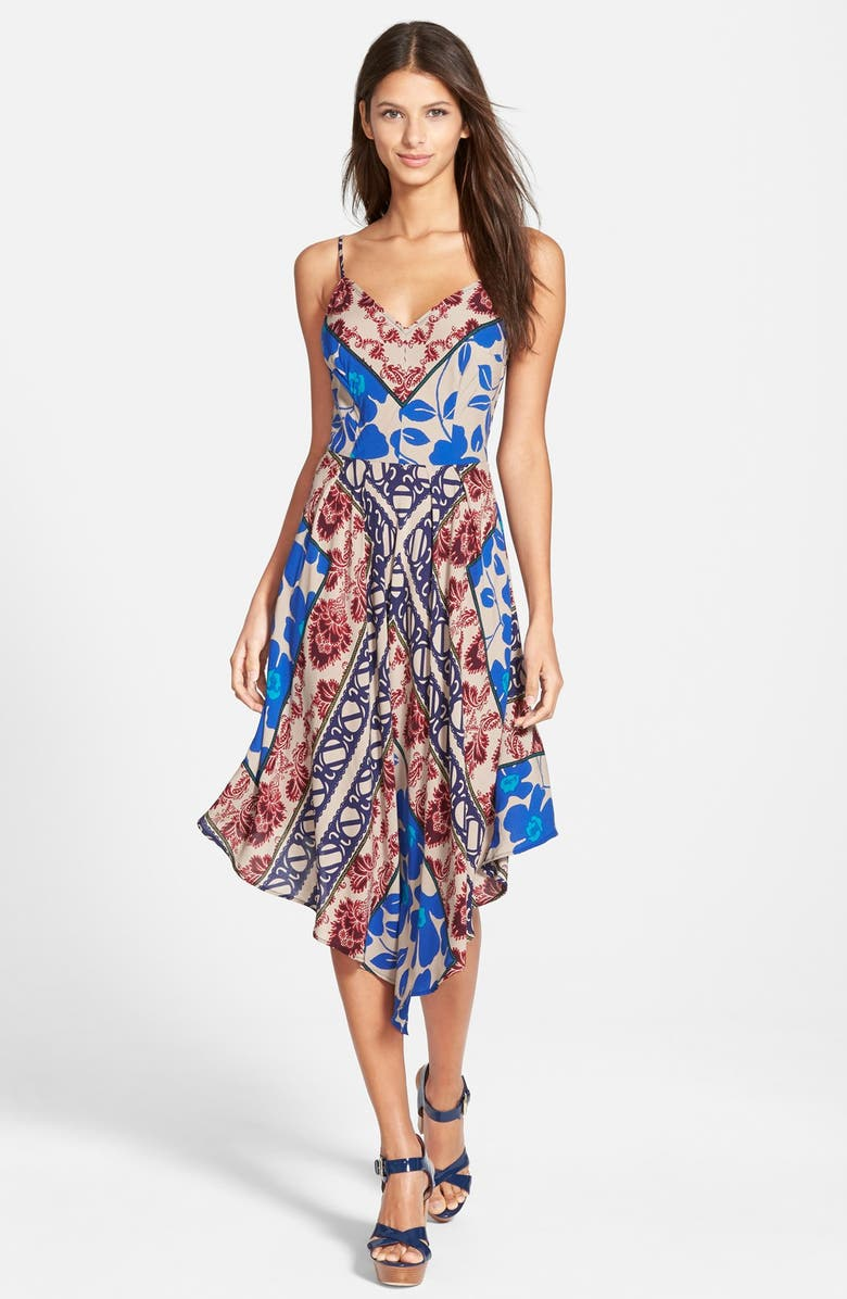 PLENTY BY TRACY REESE Print Slipdress, Main, color, 400