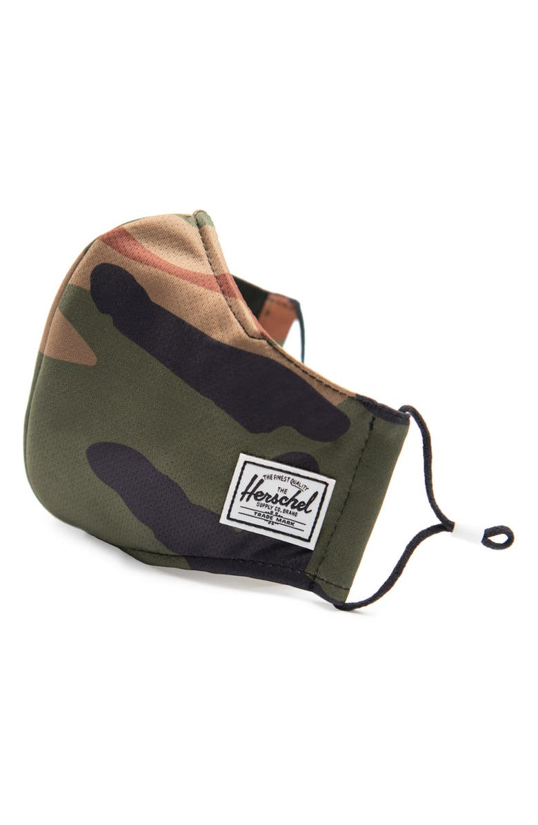 HERSCHEL SUPPLY CO. Fitted Face Mask, Main, color, 300