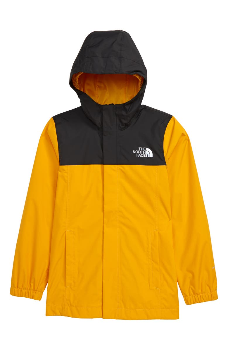 THE NORTH FACE Kids' Resolve Reflective Jacket, Main, color, SUMMIT GOLD