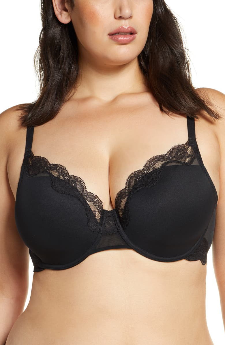 NATORI Elusive Full Fit Underwire Contour Bra, Main, color, 001