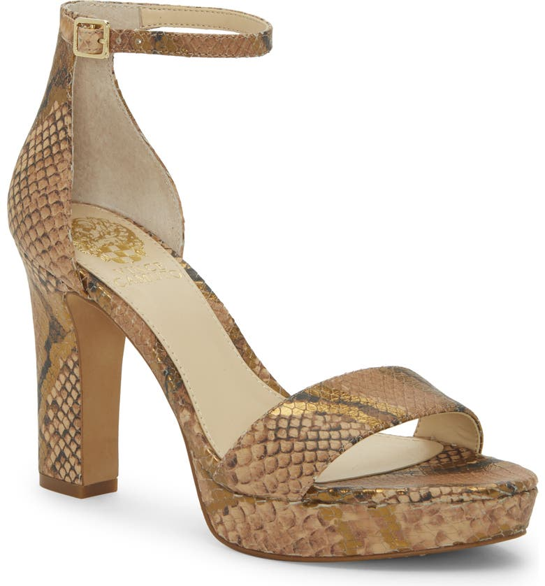 VINCE CAMUTO Sathina Sandal, Main, color, PENNY LEATHER