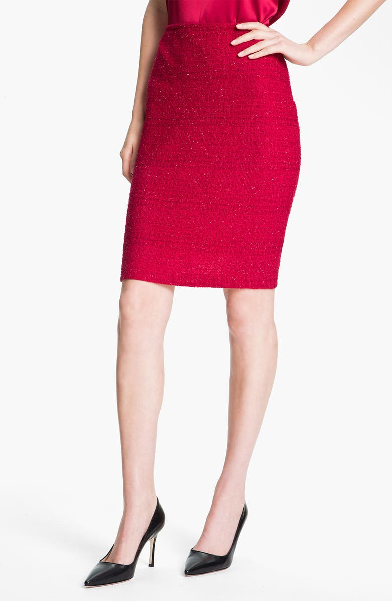 ST. JOHN COLLECTION 'Berry' Skirt, Main, color, 601