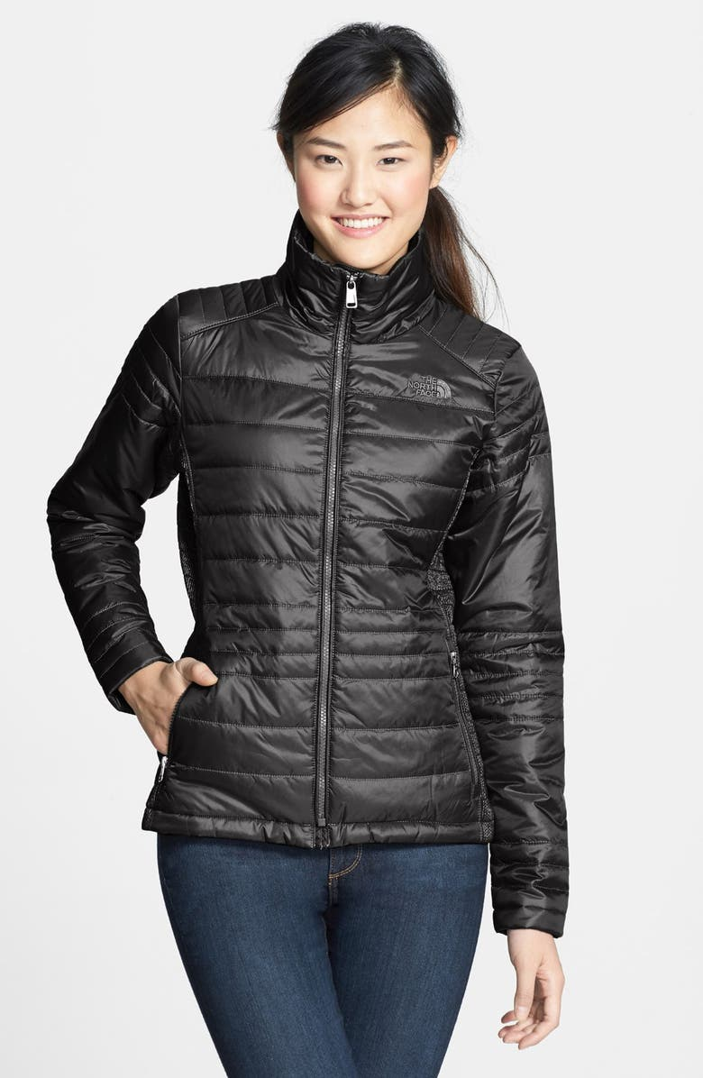 THE NORTH FACE 'Aleycia' Insulated Jacket, Main, color, BLACK