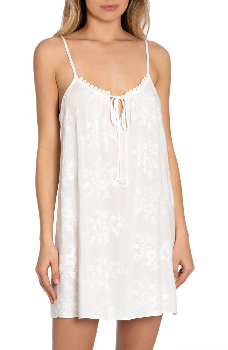 IN BLOOM BY JONQUIL Free as a Bird Chemise, Main, color, IVORY