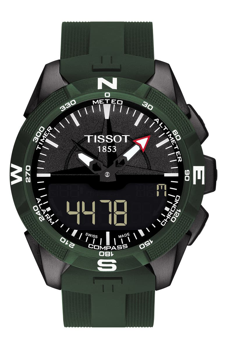TISSOT T-Touch Expert Solar Multifunction Smartwatch, 45mm, Main, color, 300