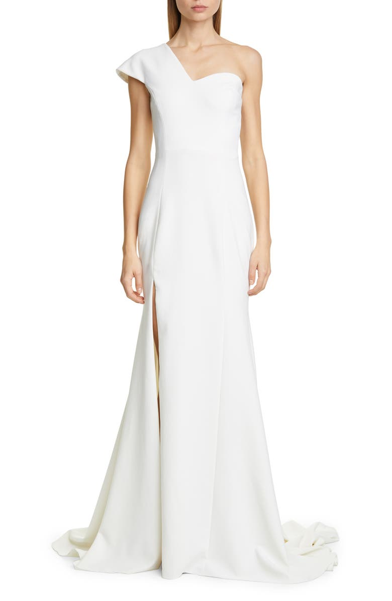 CHRISTIAN SIRIANO One-Shoulder Evening Gown, Main, color, 900