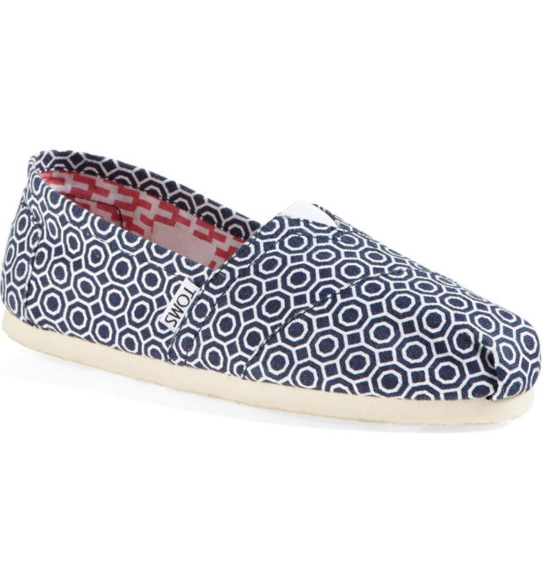 TOMS 'Classic - Jonathan Adler' Slip-On, Main, color, 400