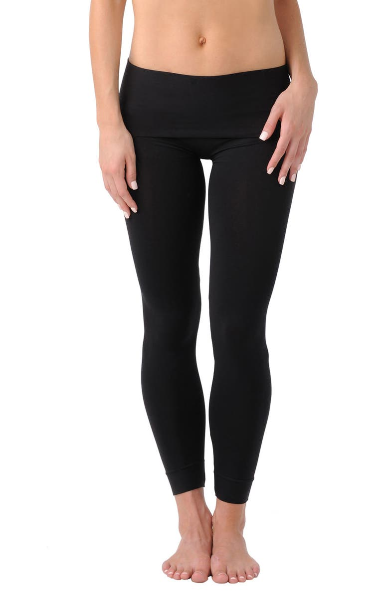 BELLY BANDIT<SUP>®</SUP> B.D.A.<sup>™</sup> Stretch Knit Leggings, Main, color, Black