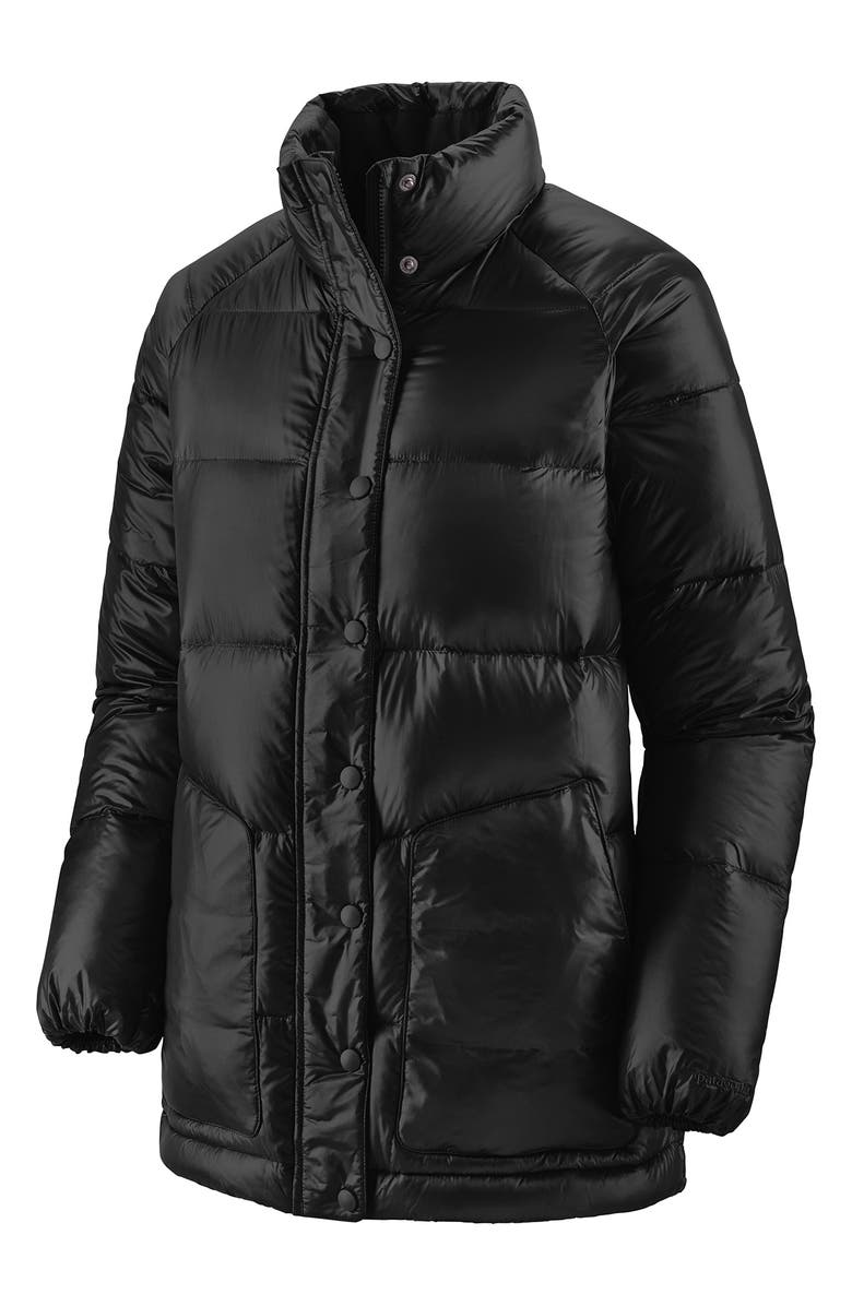 PATAGONIA Raven Rocks Water Repellent 700 Fill Power Down Puffer Jacket, Main, color, BLK BLACK