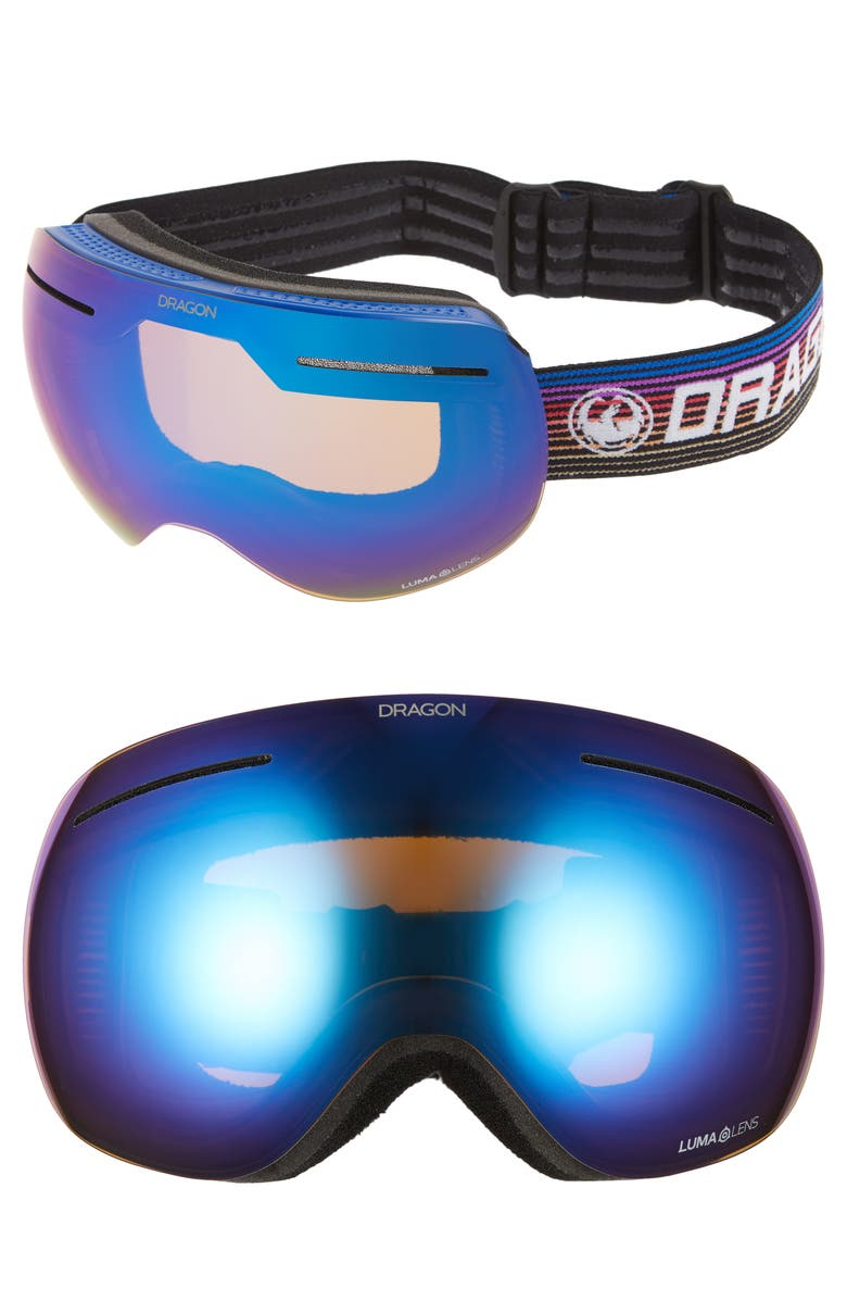 DRAGON XI Frameless Snow Goggles, Main, color, GAMER/ BLUEION AMBER