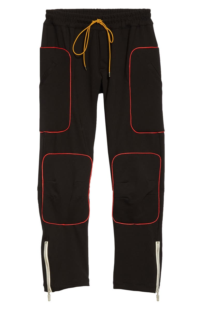 RHUDE Ponte Moto Pants, Main, color, 001