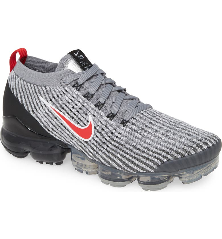 NIKE Air VaporMax Flyknit 3 Running Shoe, Main, color, 020