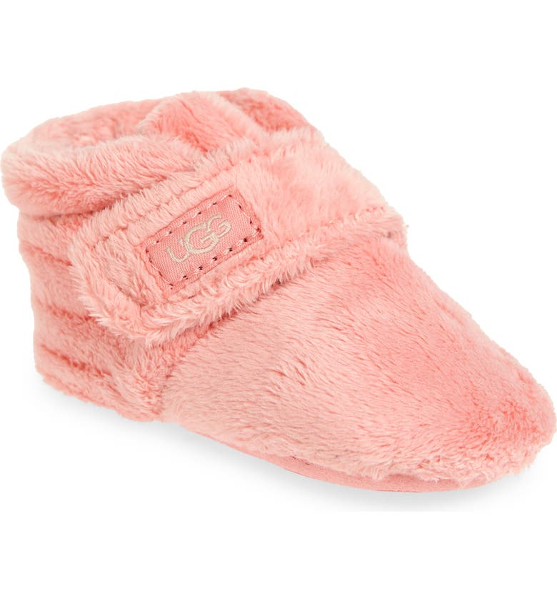 UGG<SUP>®</SUP> Bixbee Bootie, Main, color, FLAMINGO PINK