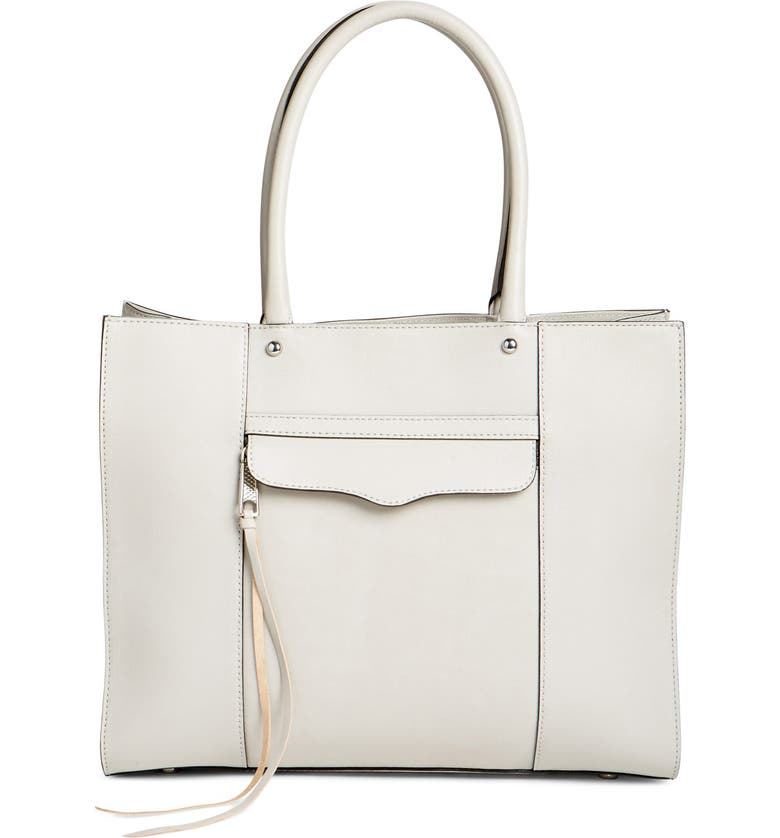 REBECCA MINKOFF 'Medium MAB' Leather Tote, Main, color, 023