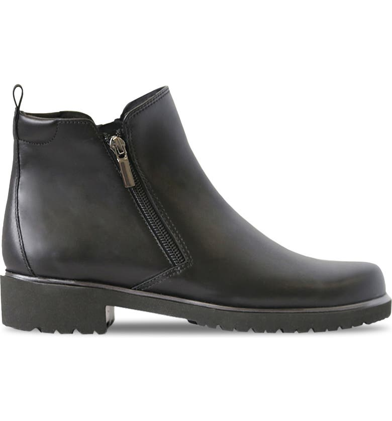 MUNRO Rourke Bootie, Main, color, BLACK LEATHER