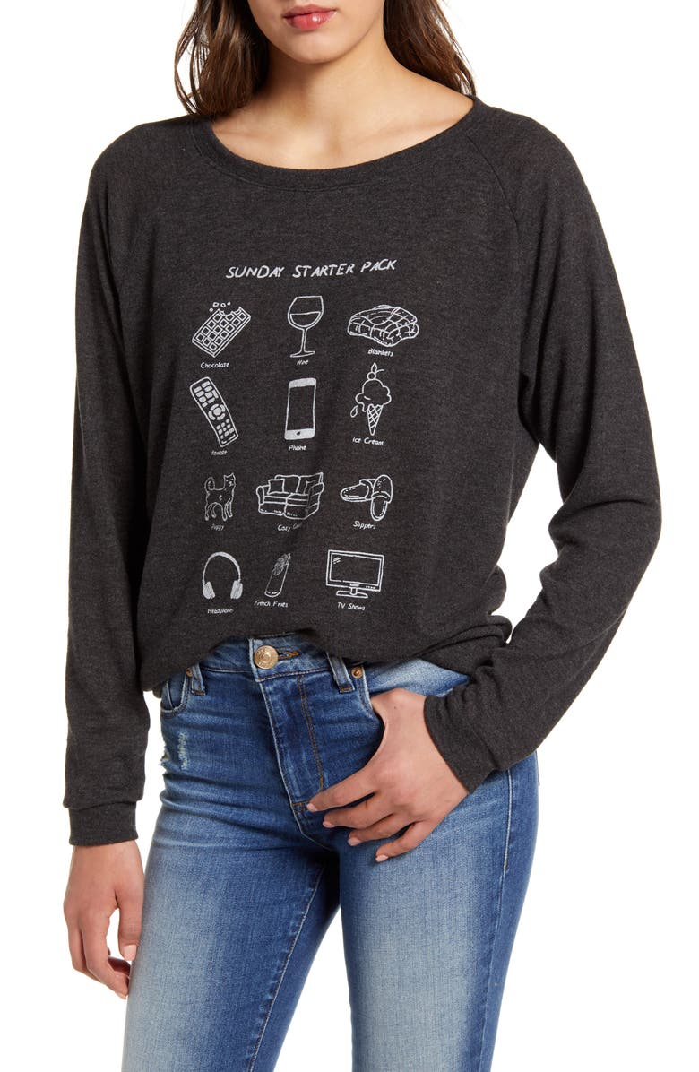 PST BY PROJECT SOCIAL T Sunday Starter Pack Sweatshirt, Main, color, 020